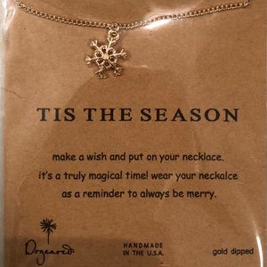Dogeared 'Tis The Season Charm Necklace - Gold